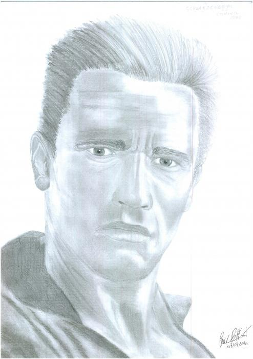Arnold Schwarzenegger by himurapt